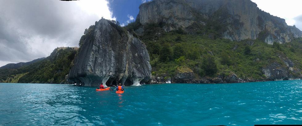 Capillas de Marmol - Kayak
