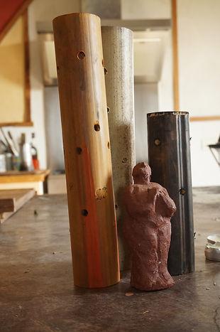 DecoBambou et Sculpture Veerle Von Gorp.