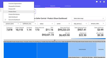 reports segment profile customer