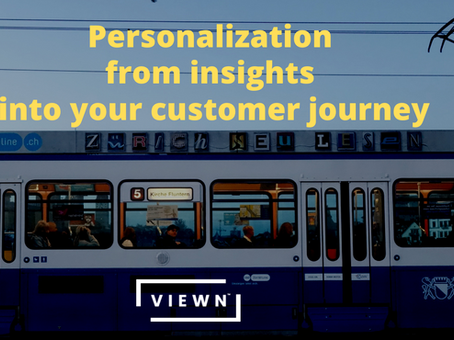 CDPs gives visibility into your customer journey