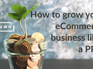 Growing eCommerce means boosting returns on your marketing investment
