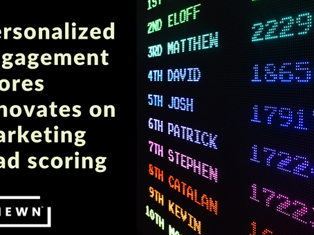Engagement scores to predict customer retention