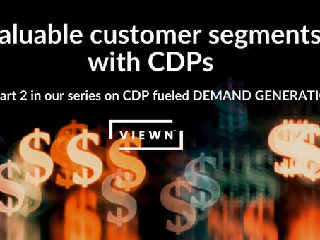 Validate target audiences from customer segmentation