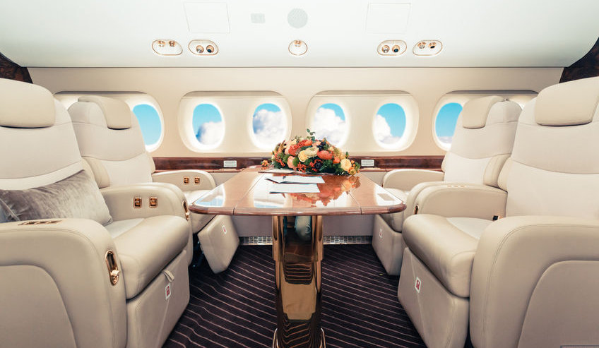 Luxury Jet Intrtior - Hastie Recruitment