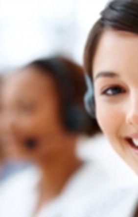 talking on phones - Hastie Recruitment