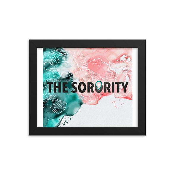 Poster encadré THE SORORITY