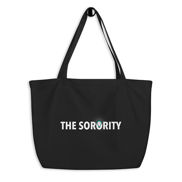 Grand tote bag THE SORORITY en Coton BIO