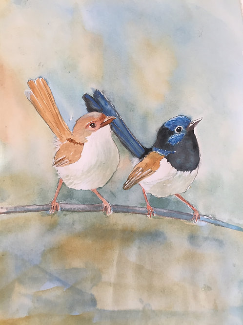 Mr & Mrs Blue