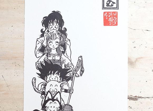 Print Dragon Ball Equipo