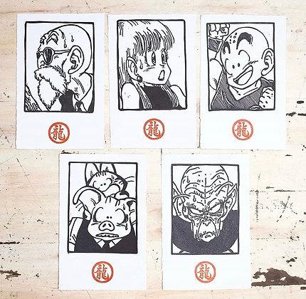 Prints chicos Dragon Ball