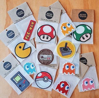 Colección Parches Gamer