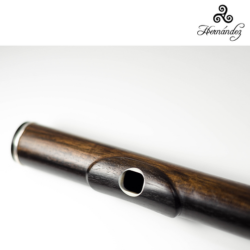 Cabeza Flauta Ébano Riser marfil  Hernández - Flute ébano wooden headjoint