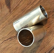 tubo en plata 925
