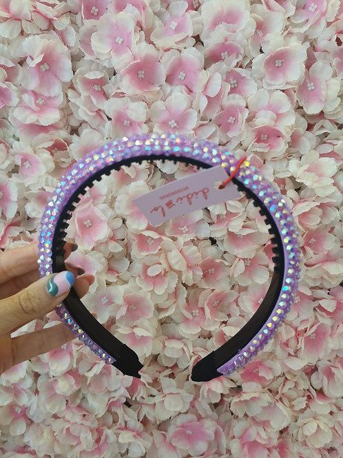 Gem Hairband Lilac