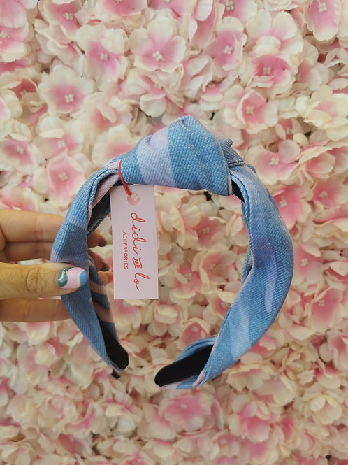 Twist Hairband Lilac