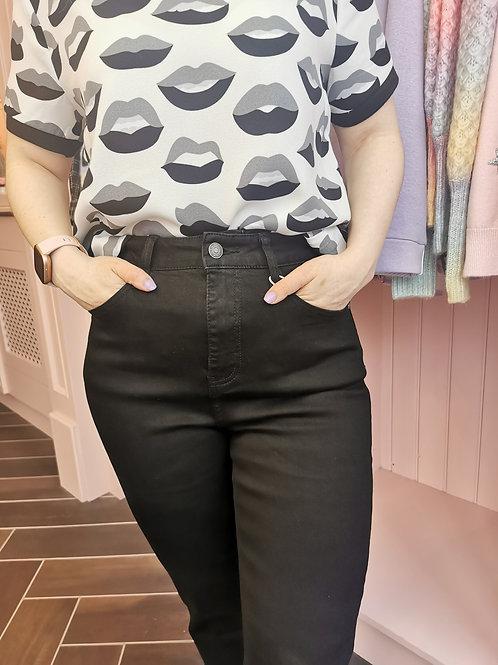 Mom Jeans Black