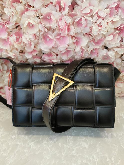 Lattice Bag Black