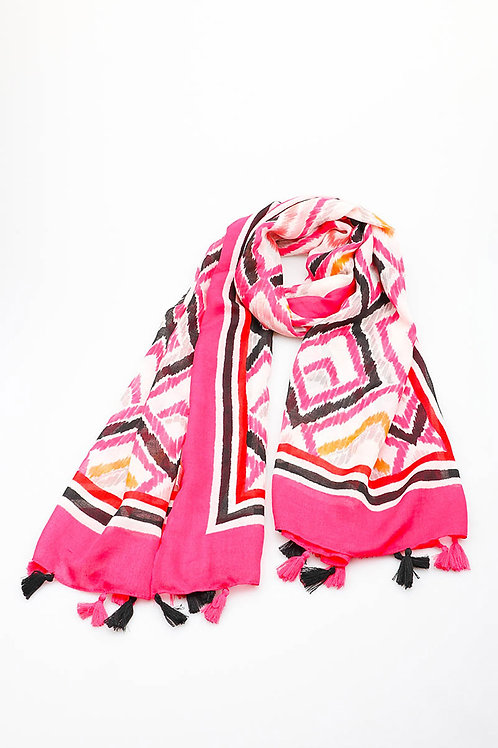 Diamond Scarf Pink