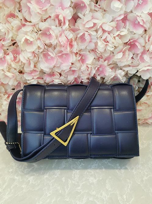 Lattice Bag Navy
