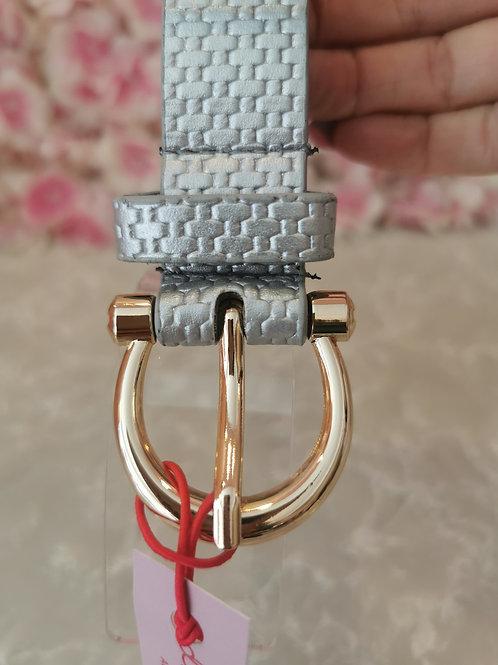 Ally Belt Silver