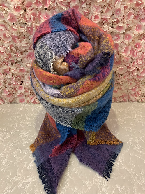 Marcy Scarf Pink