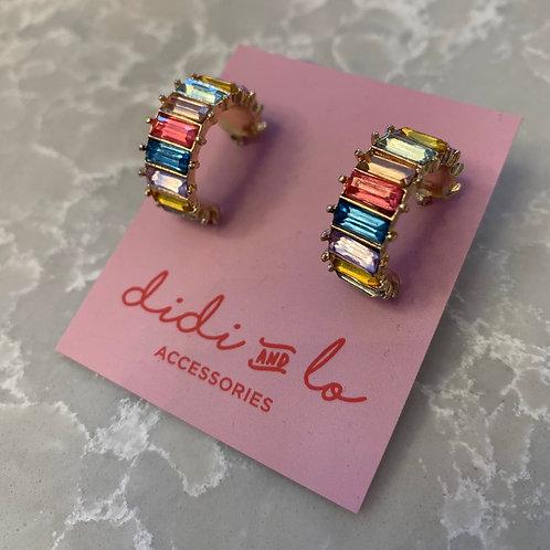 Mya Earrings Rainbow