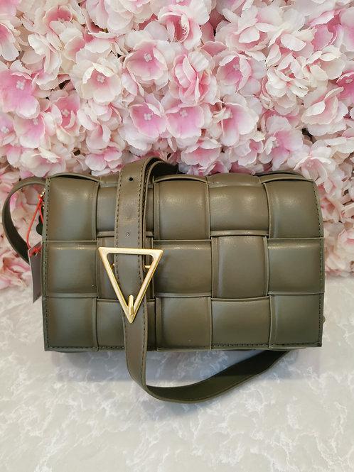 Lattice Bag Green
