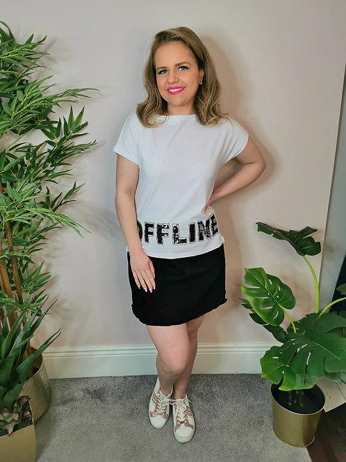 Offline T-shirt White