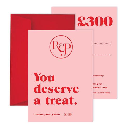 £300 Gift Card