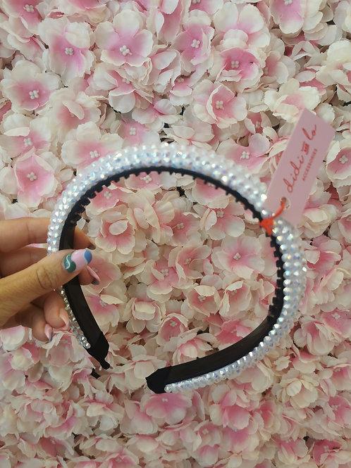 Gem Hairband White