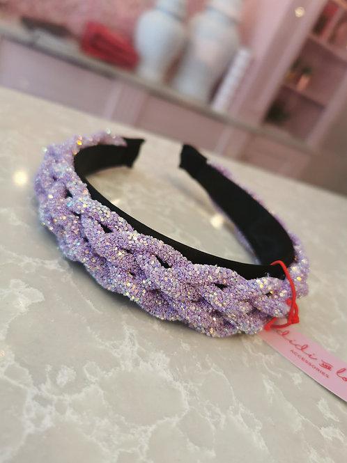 Jewel Hairband Lilac