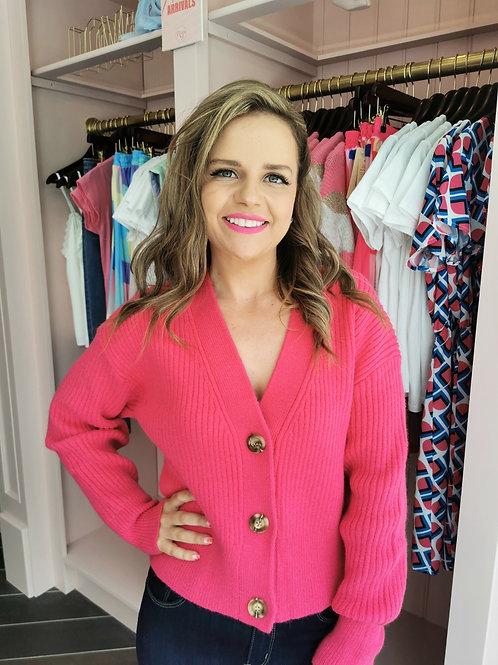 April Cardigan Pink