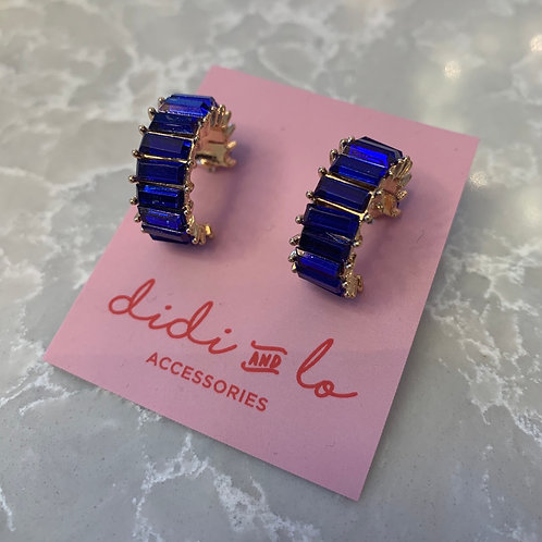 Mya Earrings Navy