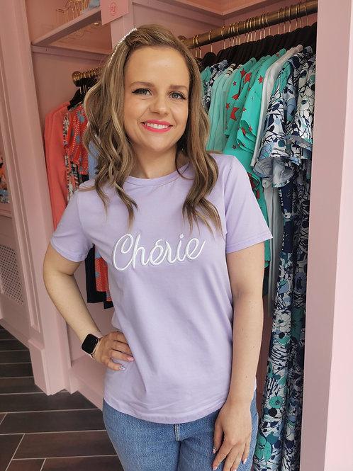 Cherie Tee Lilac