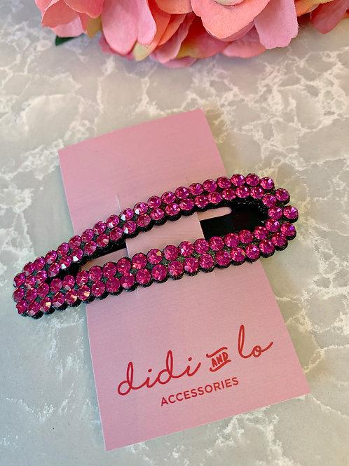 Large Pink Clip