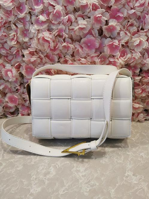 Lattice Bag White