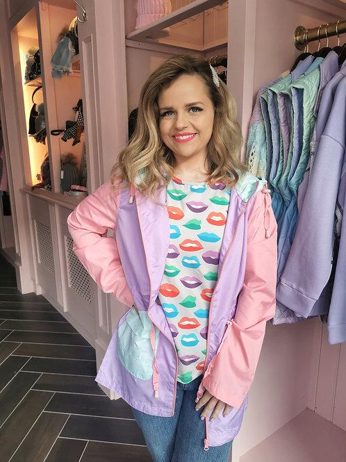 Zara Rain Jacket Lilac