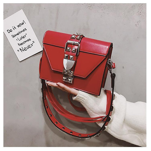 Stud Bag Red