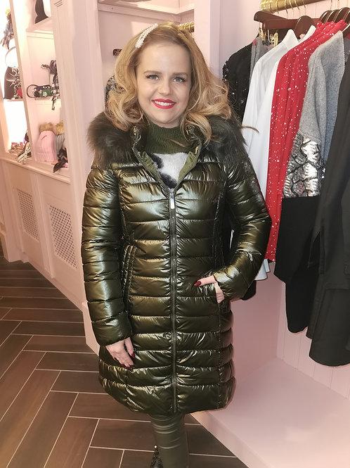 Riley Coat Khaki