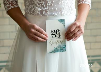 Creeert.com Trouwkaart, drukwerk, trouwen, style,
