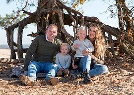 gezins fotografie buiten shoot