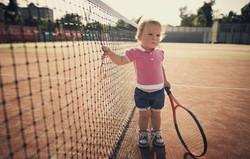 image baby tennis