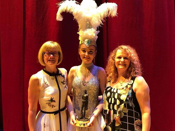 The Bethany Wragg Award won by Abigail Stansall