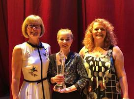 The Judith Silvester Award won by Amy Hulton