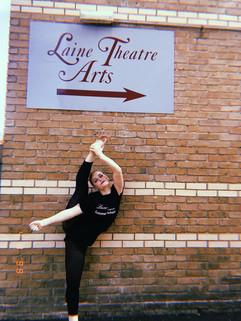 Mia Cotton at Laine Theatre Arts Summer School