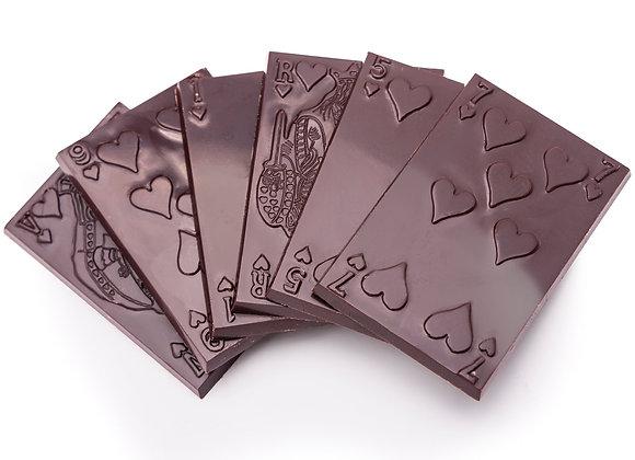 Tabletas de chocolate Bitter  10 gr c/u (3un)