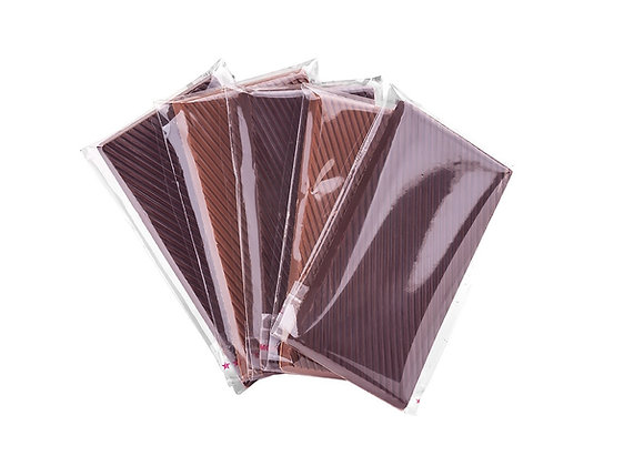 Tabletas de chocolate Bitter  10 gr c/u (3un)