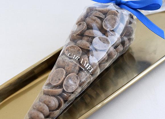 Capuccinos, mezcla de chocolate blanco y cafe de origen