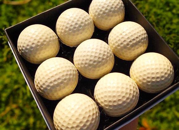 Caja 9 pelotas de Golf rellenas