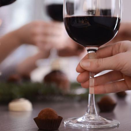 Consejos para el maridaje de chocolate y vino